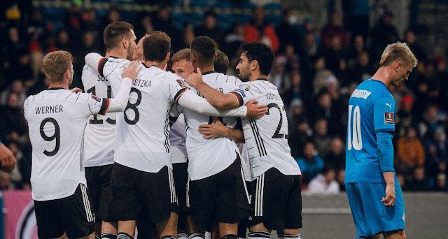 ملخص واهداف مباراة المانيا وايسلندا (4-0) تصفيات كاس العالم