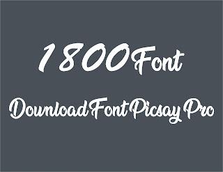 Download Font Picsay Pro Zip