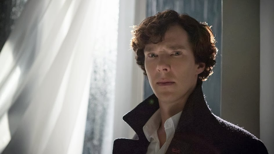 Benedict Cumberbatch as Sherlock Holmes in BBC Sherlock Season 3 Episode 3 His Last Vow
