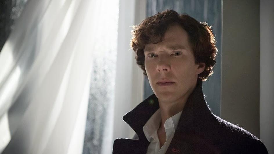 Benedict Cumberbatch as Sherlock Holmes in BBC Sherlock Season 3 Episode 3 His Last Vow
