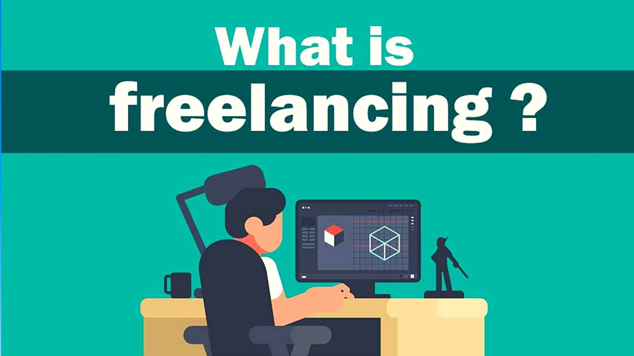 What are freelancing in Hindi
