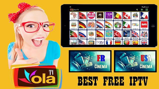 تطبيق OLA TV شاهد القنوات المشفرة و القنوات الرياضية بجودة عالية على هاتفك