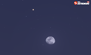 Planet Mars Bisa Diamati di Dekat Bulan Malam Ini