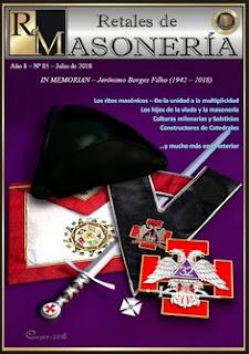 Retales de Masonería 85 – Julio 2018