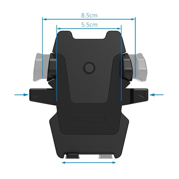 SmartTap スマートタップ オートホールド式 車載ホルダー EasyOneTouch2 伸縮アーム 粘着ゲル吸盤 HLCRIO121 スマホ ホルダー