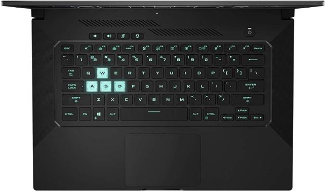 ASUS TUF Dash F15 TUF516PM-HN135: portátil gaming con procesador Core i7, gráfica GeForce RTX 3060 y conectividad Thunderbolt 4