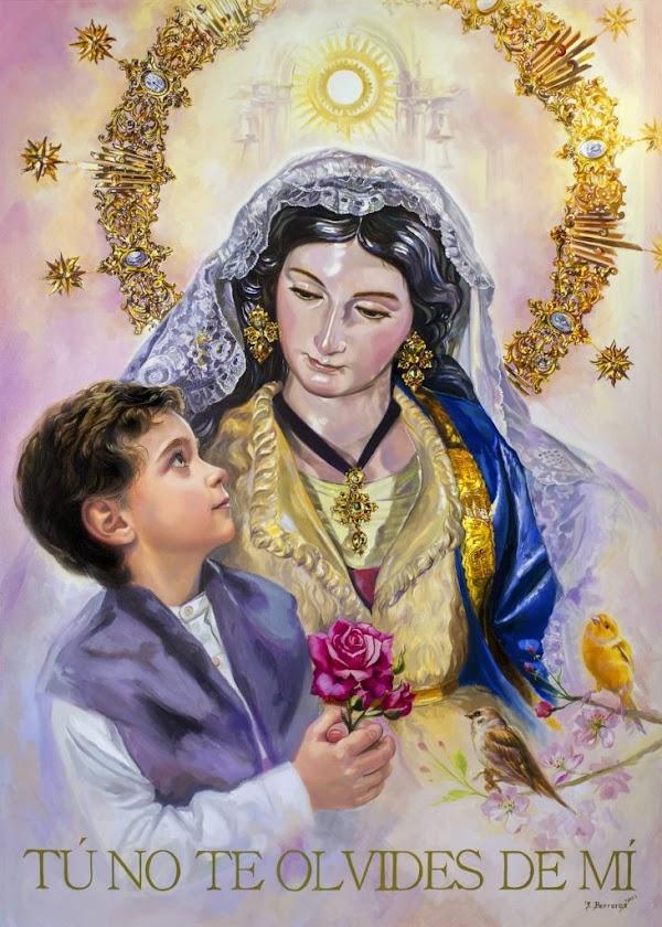 La Divina Pastora anuncia el Tiempo de Gloria de Jaén