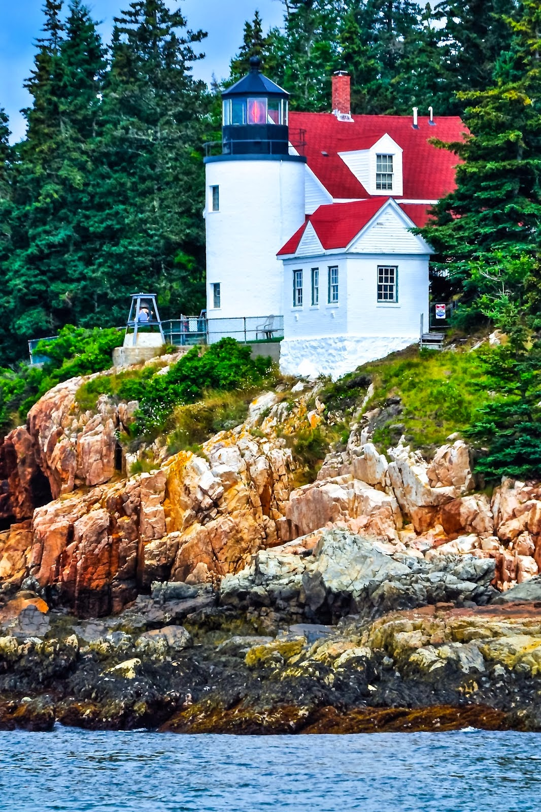 Beautiful Lighthouses around the World  -Bass Harbor Head Station, Maine