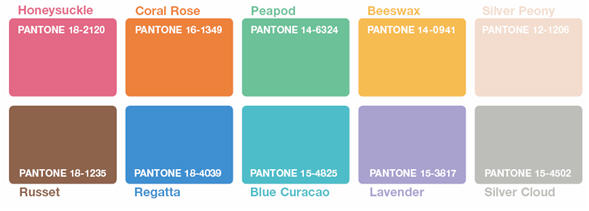 DRESS UP WITH PANTONE SPRING 2011 COLOURS!