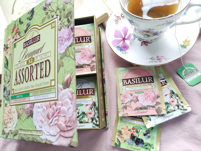 basilur bouquet tea cup