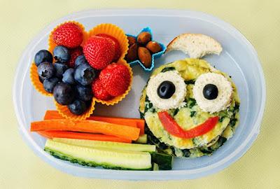 Opciones preparar Lunch sano