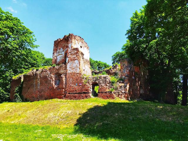 ruiny pałacu w Miliczu, pałace na dolnym śląsku