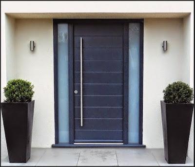 model pintu utama minimalis terbaru