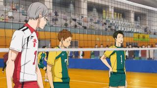 ハイキュー!! アニメ OVA 陸VS空 音駒 セカンドユニフォーム 戸美学園 Haikyuu Nekoma   Hello Anime !