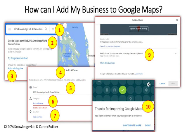 How can I Add My Business to Google Maps?