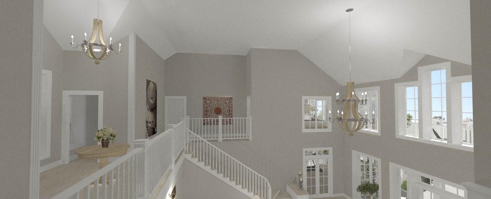 Dreams& Coffees arkitekt och projektblogg Pampigt hus med utsiktöver golfbanan