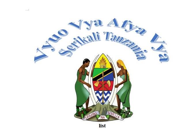 Vyuo Vya Afya Vya Serikali Tanzania