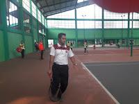Kapolres Lampung Utara Buka Turnamen Tenis Lapangan HUT Bhayangkara ke-73