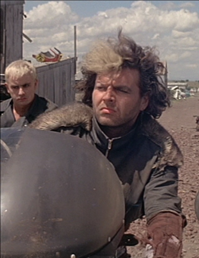 Hugh Keays-Byrne as Toecutter in the 1979 movie Mad Max