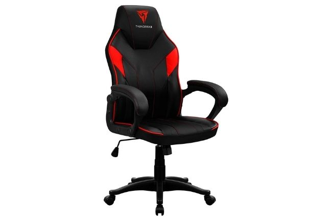 Cadeira Thunder X3 EC1 vermelha e preta