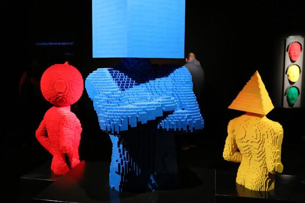 Lego Bricks Art - Nathan Sawaya