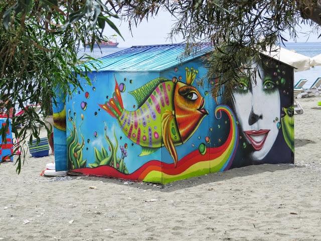 Cyprus Road Trip: Beach shack in Limassol