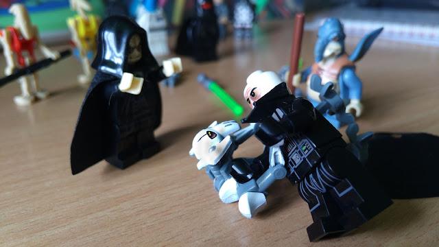 Генерал Гривус против Дарта Вейдера лего фигурки