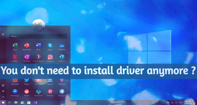 Installing drivers and updates in Windows 10 will go through in one place