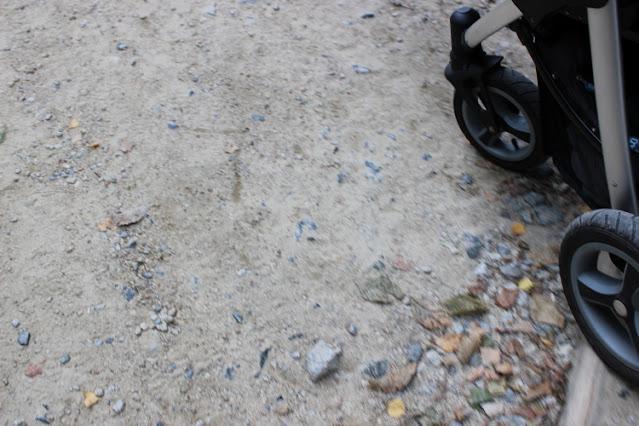 Podjazd na górę Ślęże z wózkiem dziecięcym