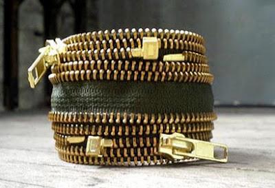 Ideias de como fazer artesanato com ziper