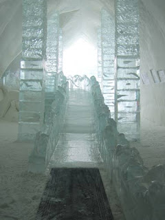 The Ice Slide.