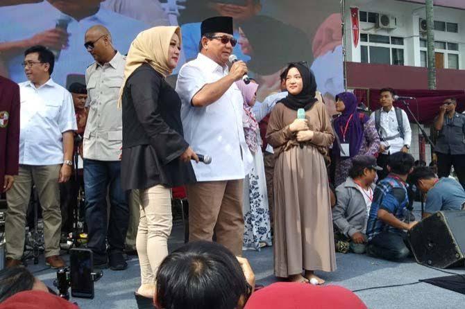 """Dukung Prabowo, Langkah """"Bunuh Diri"""" Sabyan Karena Tak Tahu Diri"""