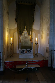 The Royal Throne in the Tower of London