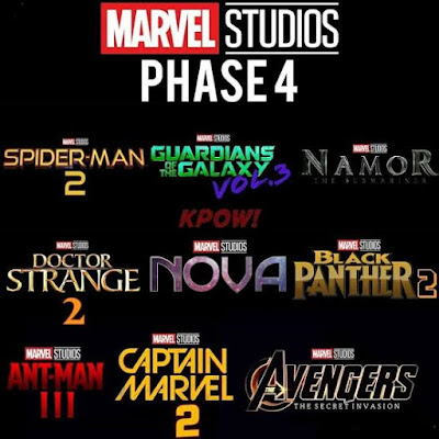Marvel upcoming movies , marvel Phase 4 movies