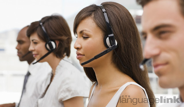 Ethnically diverse Call Center Representatives