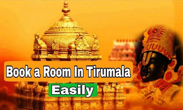 booking room in tirumala