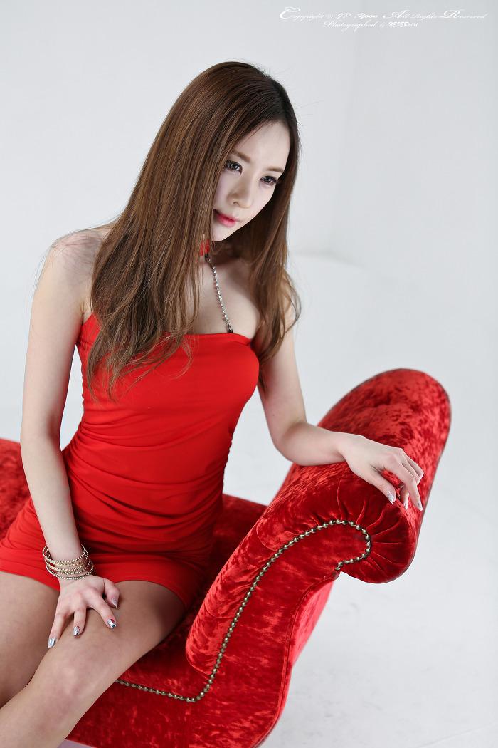 Hot Red Lee Yeon Ah Cute Girl Asian Girl Korean