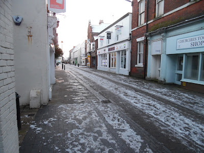 Picture three  of snow and ice in Brigg on January 23, 2019 by Nigel Fisher