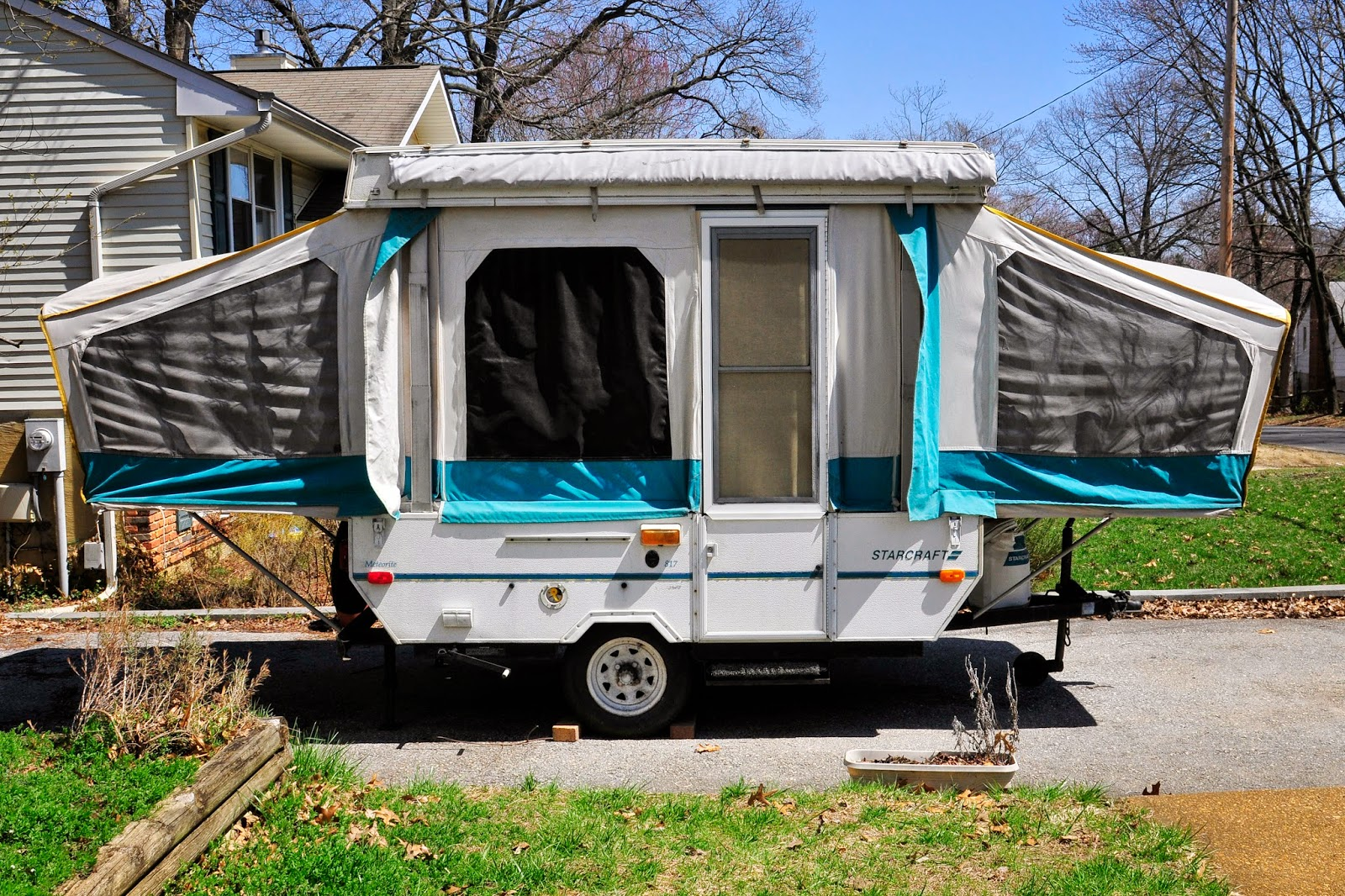 Sifting Through Life Popup Tent Trailer Makeover And Breakfast Burritos