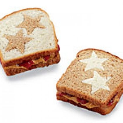 Peanut Butter and Jelly Stars Recipe