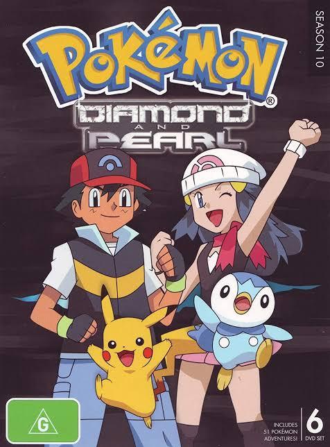 Pokemon Season 10 Diamond And Pearl Images In 720P, 1080P
