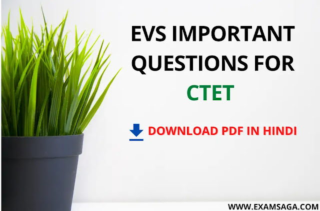 EVS-Important-Questions-For-CTET