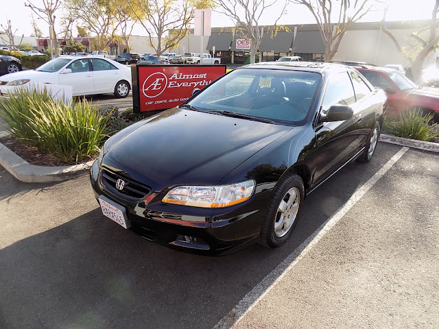 Honda Accord Coupe with new paint from Almost Everything Auto Body.
