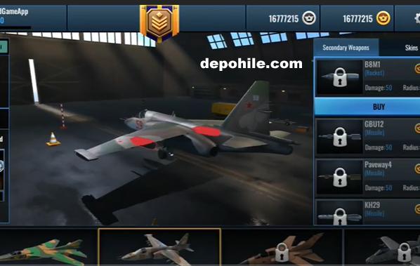Fighter Pilot HeavyFire v0.99.1 Sınırsız Kaynak Hileli Mod Apk