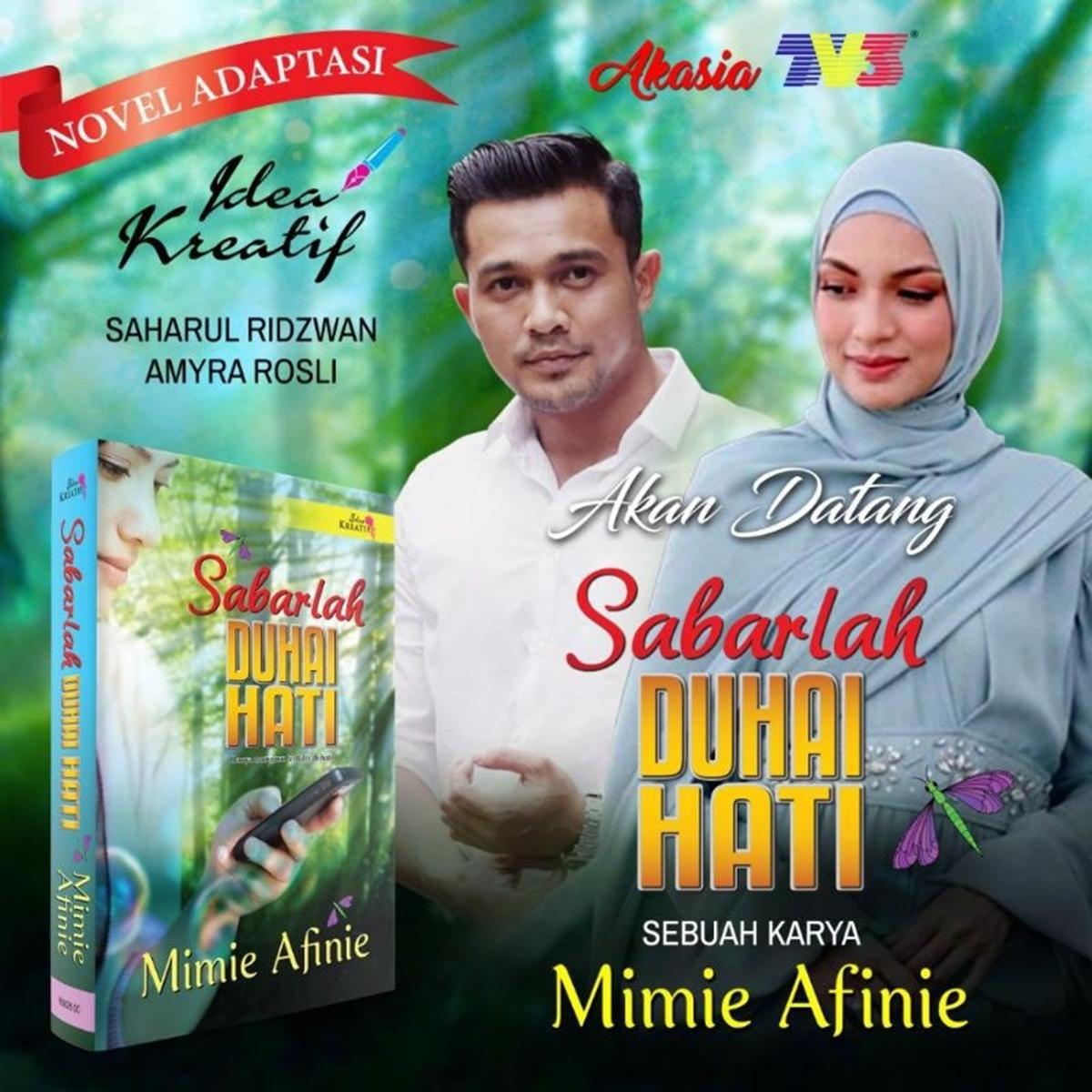 Drama Novel Sabarlah Duhai Hati
