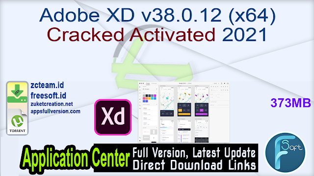 Adobe XD v38.0.12 (x64) Cracked Activated 2021