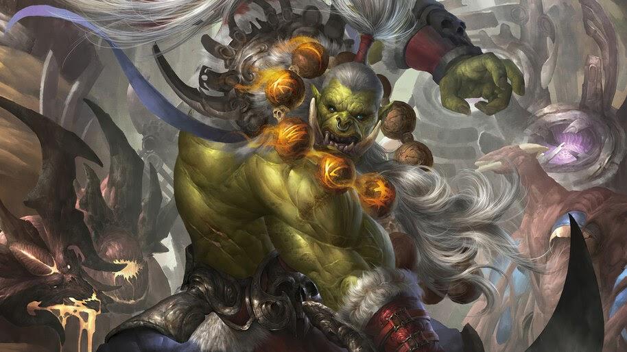 World of Warcraft, Orc, 4K, #3.2708