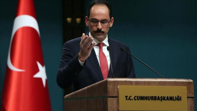 """Turquía denuncia plan israelí para """"borrar"""" al pueblo palestino"""
