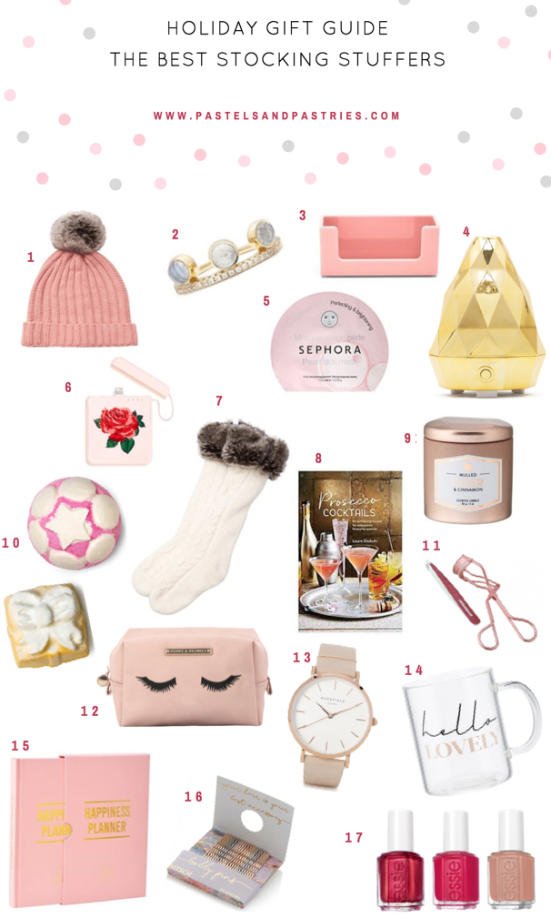 Top Girly Stocking Stuffers-- Indigo, Saje, essie, Tweezerman, LUSH,