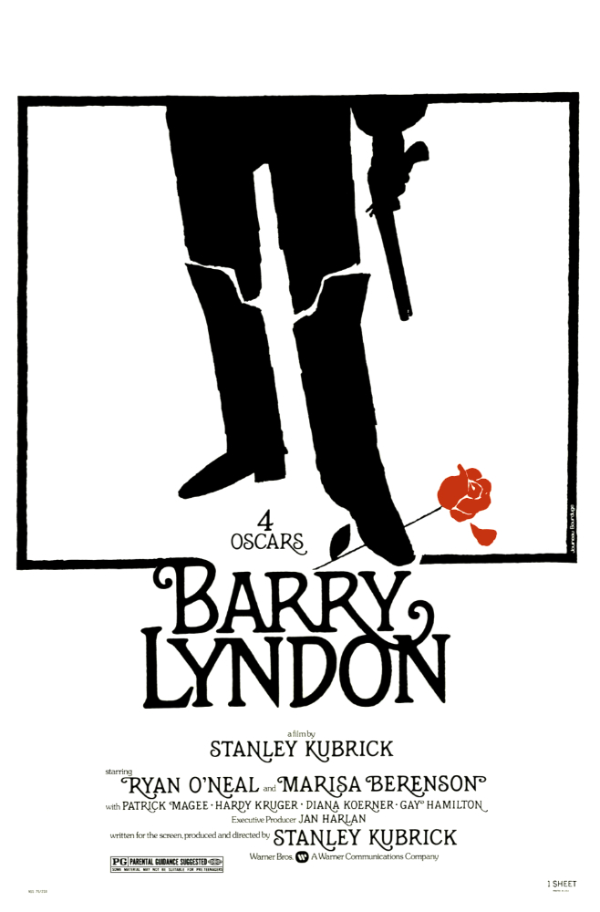 """Movie Review: """"Barry Lyndon"""" (1975)"""